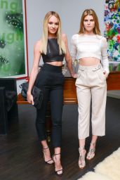 Candice Swanepoel – 'Letters, To The Men I Have Loved' Private Dinner in New York City