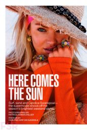 Candice Swanepoel - Lucky Magazine July 2014 Issue