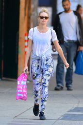 Candice Swanepoel Street Style - SoHo, New York City, May 2014