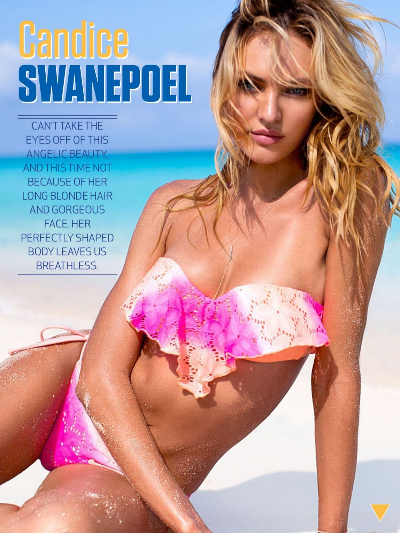 Candice Swanepoel - The Men Magazine June 2014 Issue