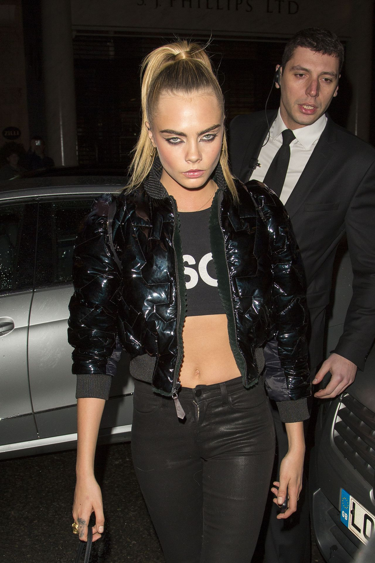 Cara Delevingne In London Fendi Launch After Party May