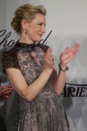 Cate Blanchett - Chopard Trophy at Cannes Film Festival 2014