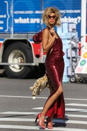 Chanel Iman - Photoshoot in New York City - May 2014