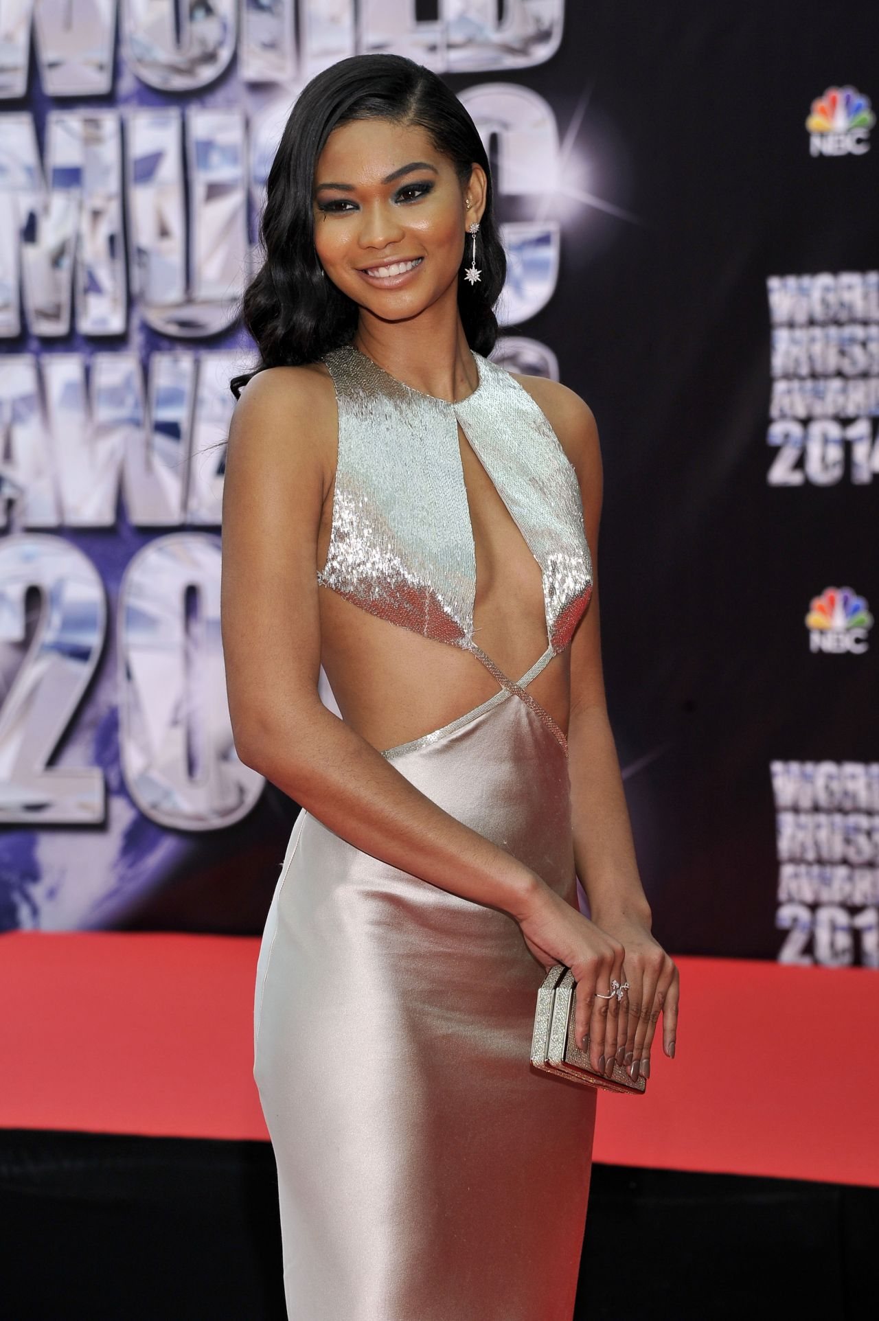 Chanel Iman - World Music Awards 2014