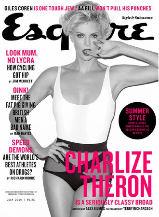 Charlize Theron - Esquire Magazine (UK) July 2014 Issue