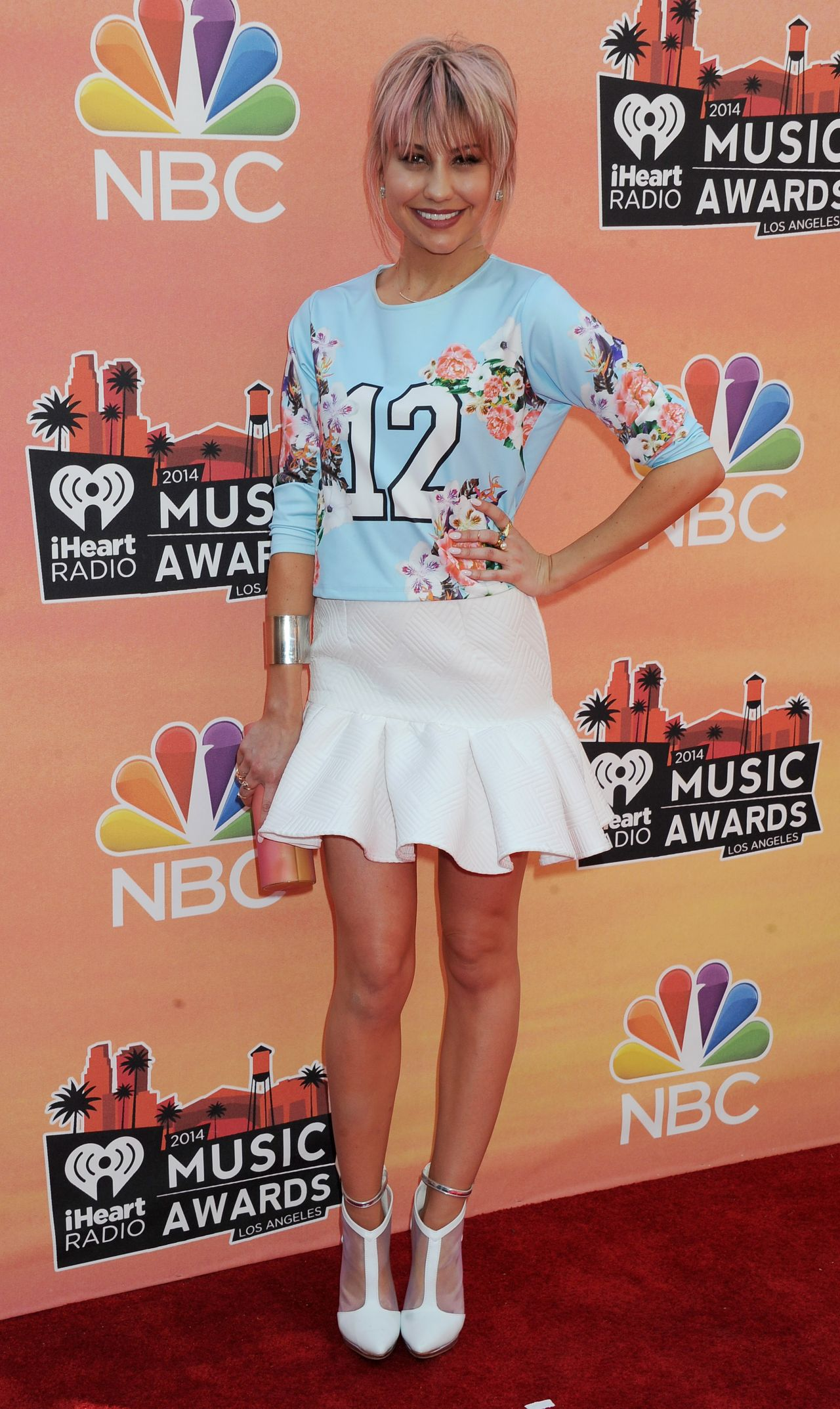 Chelsea Kane - 2014 iHeartRadio Music Awards in Los Angeles