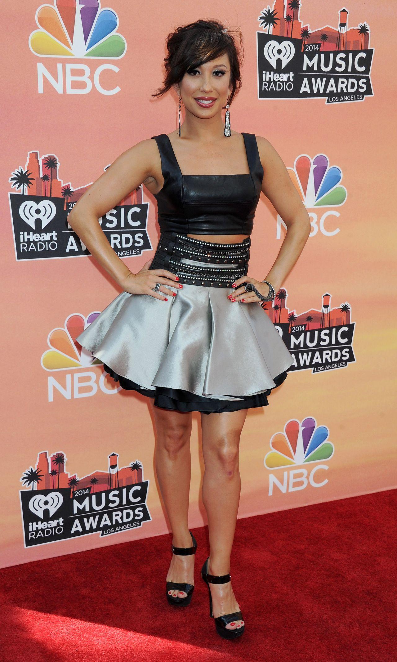 Cheryl Burke - 2014 iHeartRadio Music Awards