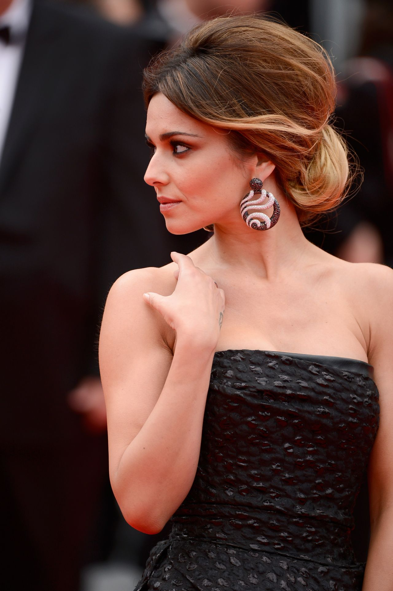 cheryl cole 39 foxcatcher 39 premier 2014 cannes film festival. Black Bedroom Furniture Sets. Home Design Ideas