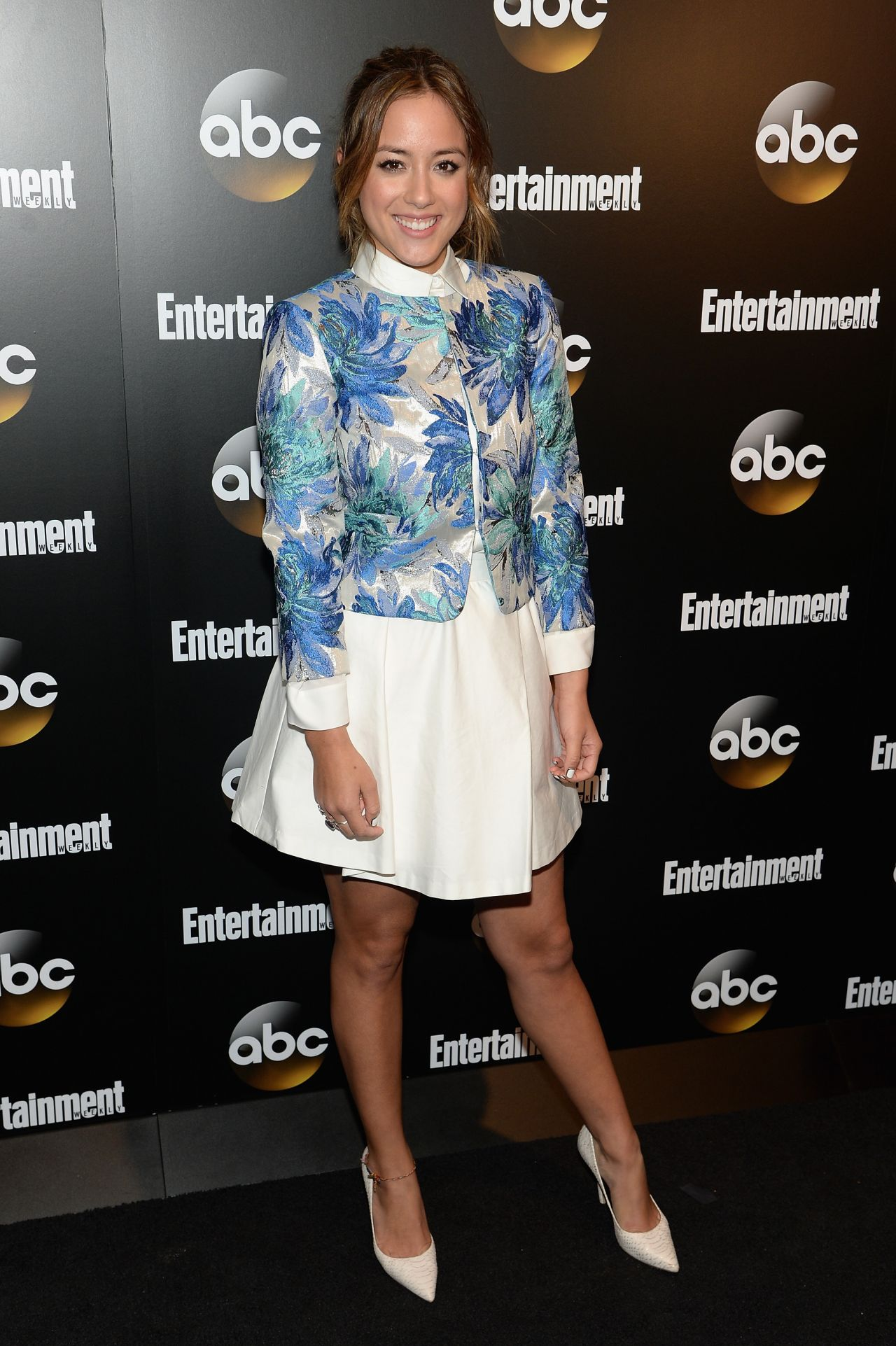 Chloe Bennet - EW & ABC 2014 Upfronts Party in New York
