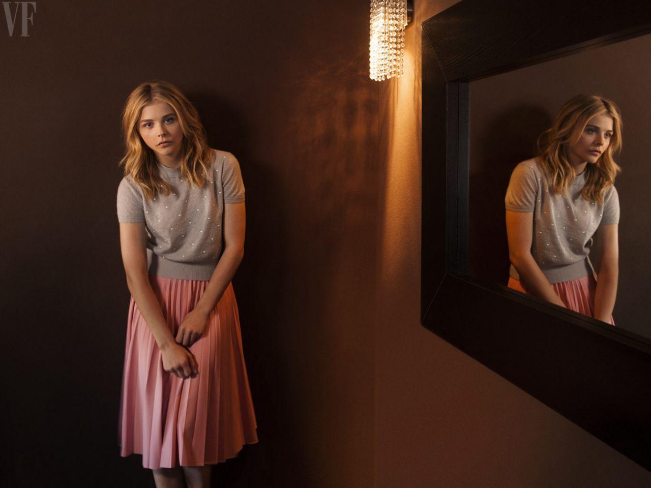 Chloe Grace Moretz - Portraits Taken at Cannes Film Festival 2014