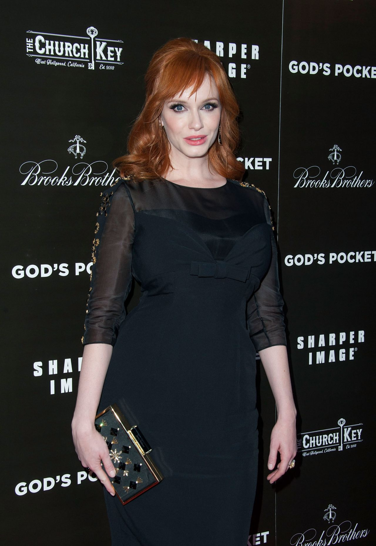 Christina Hendricks – 'God's Pocket' Premiere in Los Angeles