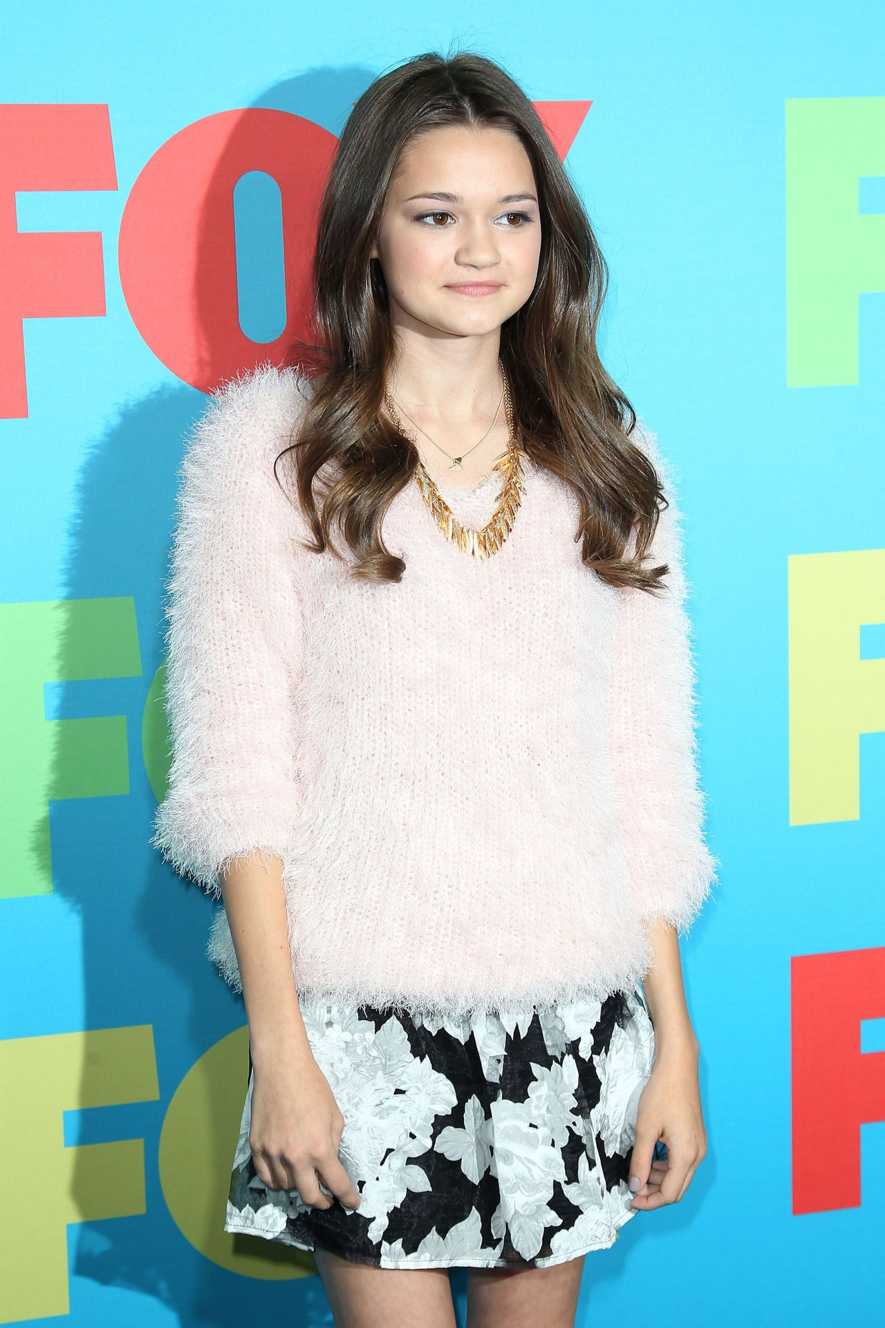 Ciara Bravo 2014 Nbc Upfront Presentation In New York City