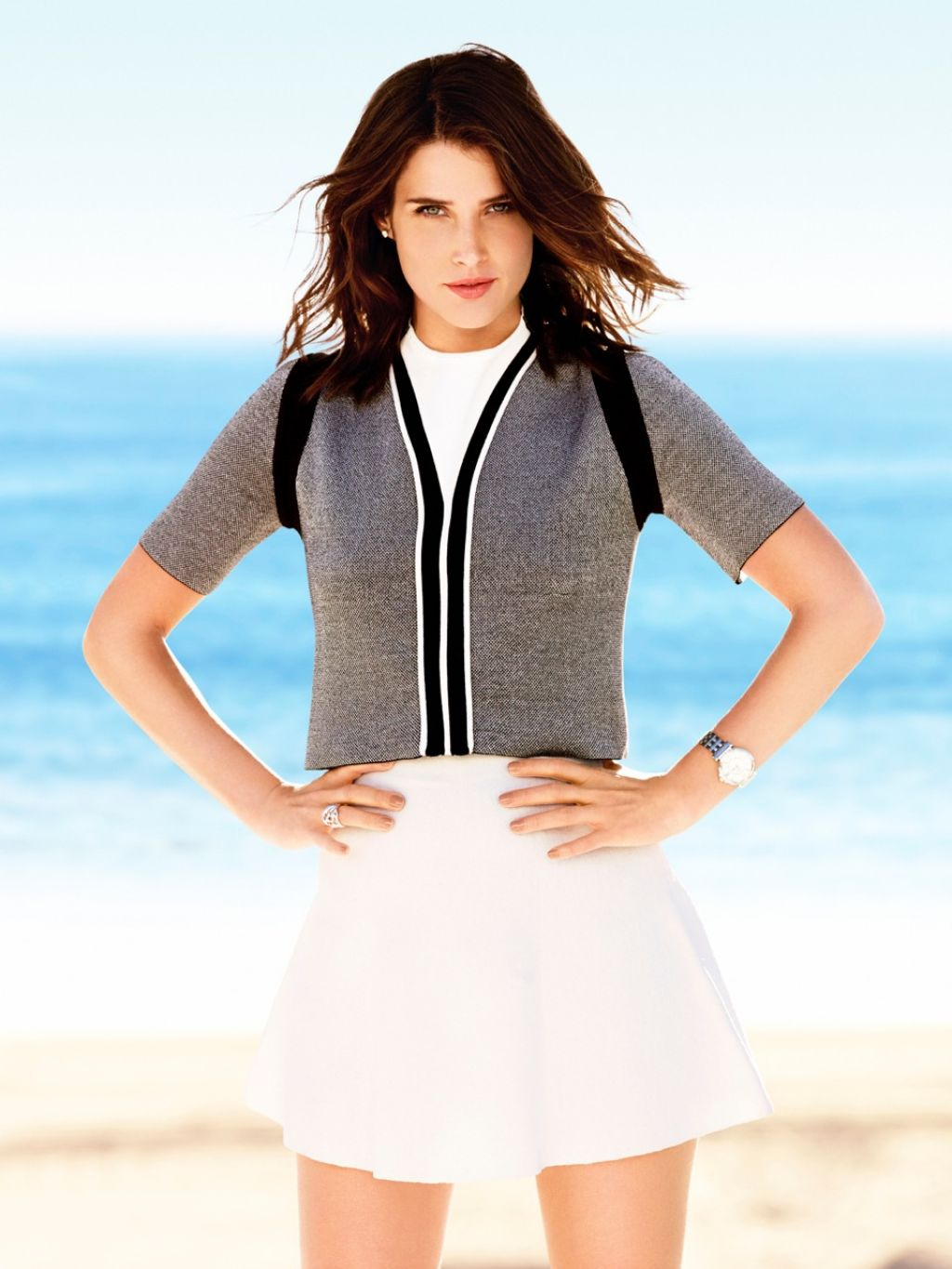 Cobie Smulders - Photoshoot For Self Magazine April 2014 -9447