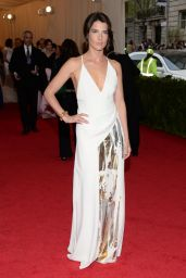 Cobie Smulders Wears Reed Krakoff Dress – 2014 Met Costume Institute Gala
