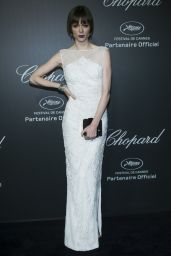 Coco Rocha Wearing Gabriela Cadena Gown – Chopard Backstage Party – 2014 Cannes Film Festival