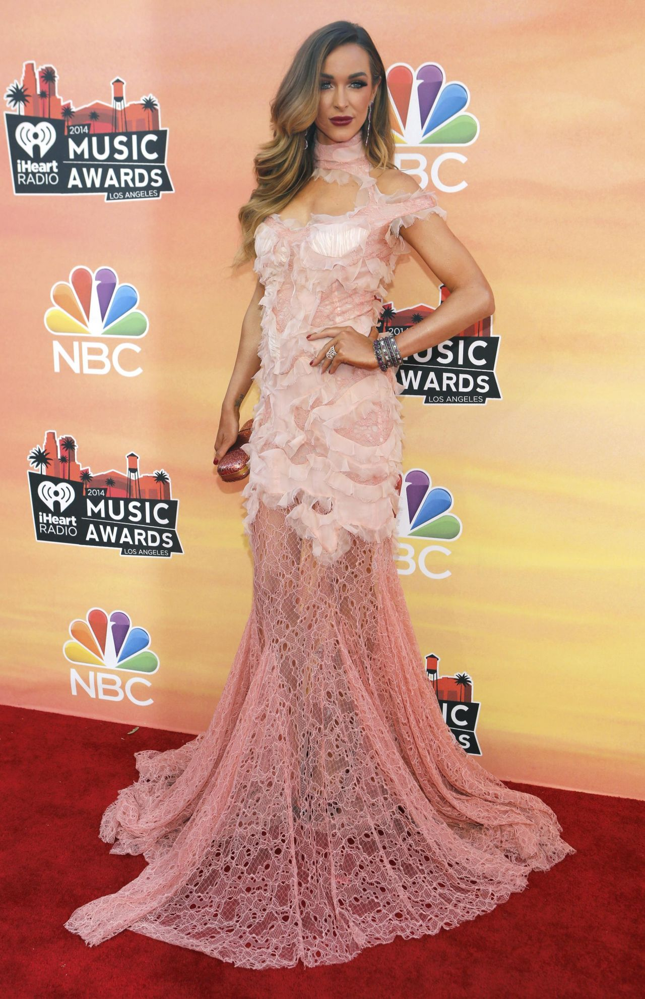 Courtney Bingham - 2014 iHeartRadio Music Awards