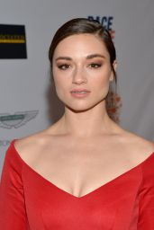 Crystal Reed – 2014 Race To Erase MS Event in Century City