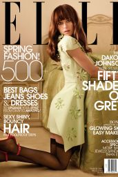 Dakota Johnson – ELLE Magazine March 2014 Issue
