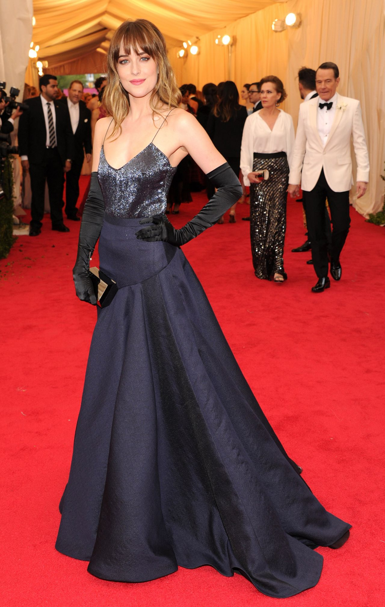 Dakota Johnson Wearing Jason Wu – 2014 Met Costume Institute Gala