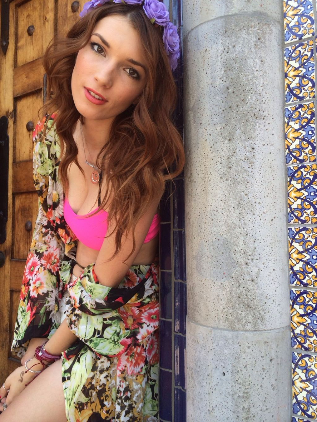 Dani Thorne That Madonna Girl Photoshoot (2014)