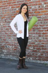 Danica McKellar in Tights at DWTS Rehearsal in LA - May 2014