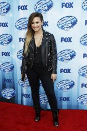 Demi Lovato at American Idol XIII 2014 Finale in Los Angeles