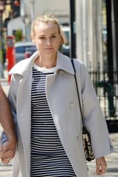 Diane Kruger Casual Style - Out in NYC - May 2014