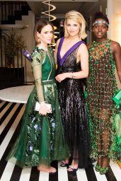 Dianna Agron Wearing Miu Miu Gown – 2014 Met Costume Institute Gala
