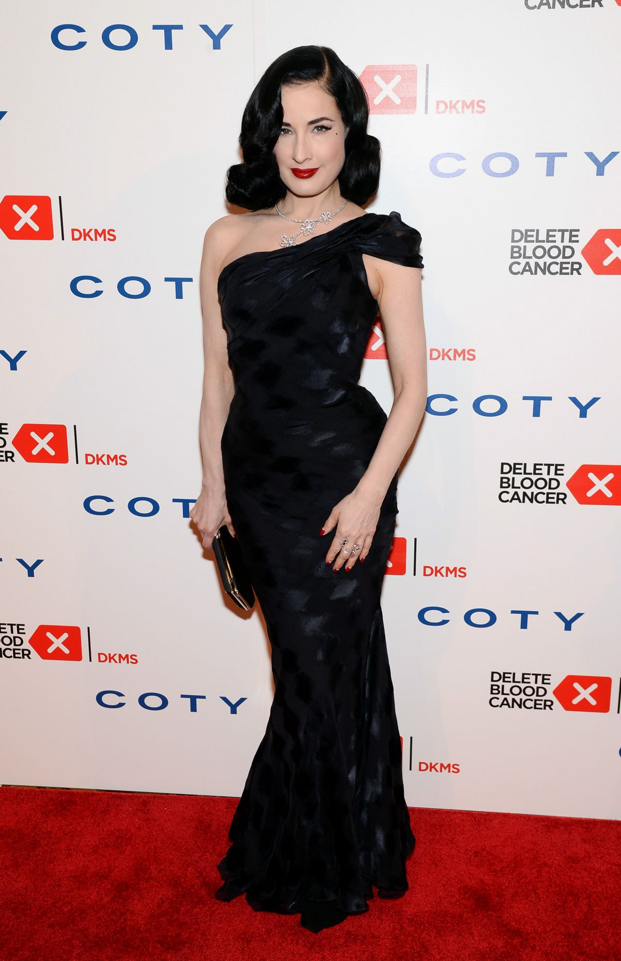 Dita Von Teese - Delete Blood Cancer Gala - May 2014
