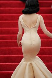 Dita von Teese In Zac Posen Gown – 2014 Met Costume Institute Gala