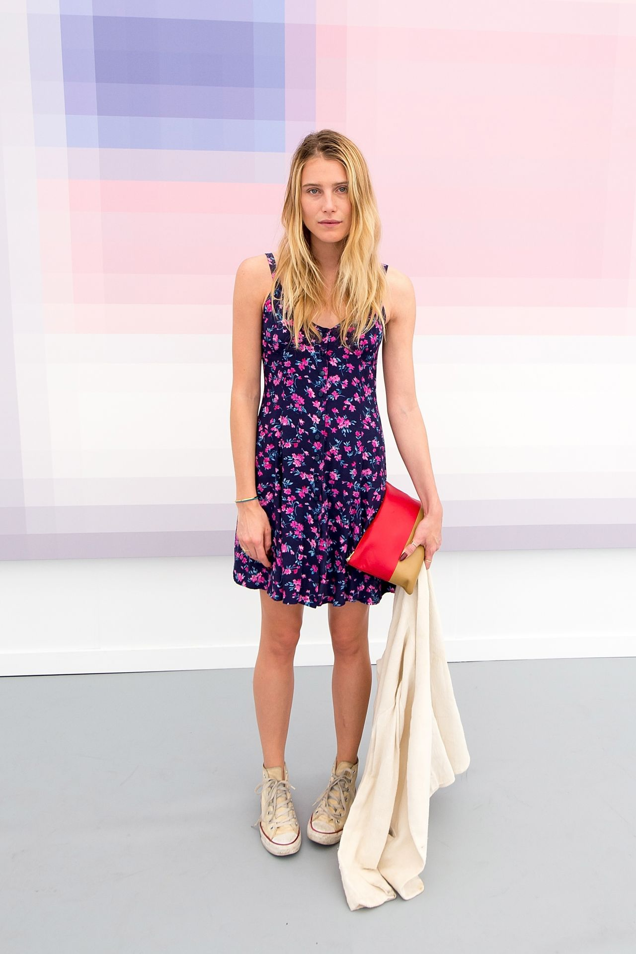 Dree Hemingway - Frieze New York Art Fair 2014