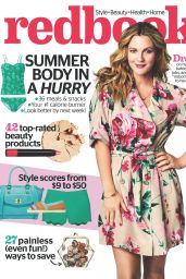 Drew Barrymore - Redbook Magazine June 2014 Cover