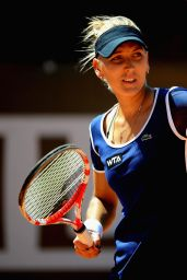 Elena Vesnina – Italian Open 2014 in Rome – Round 3