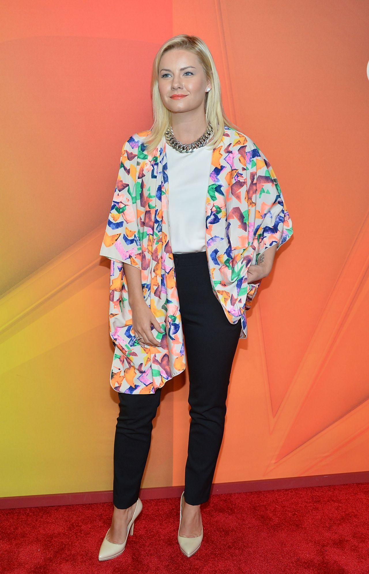 Elisha Cuthbert – NBC Upfront Presentation in New York City – May 2014