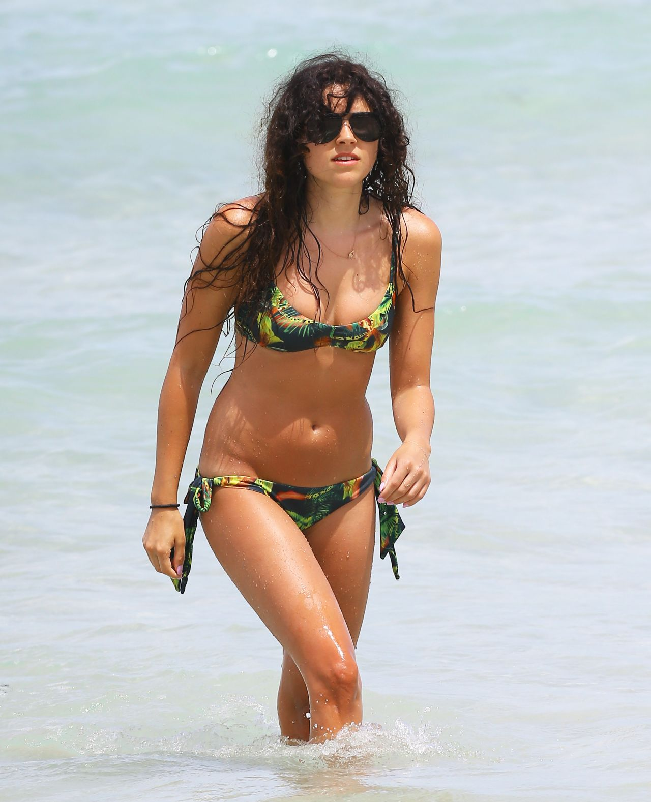 Eliza Doolittle Wearing a Bikini in Miami - May 2014