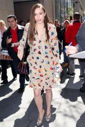 Elizabeth Olsen at NBC Studios in New York City - May 2014