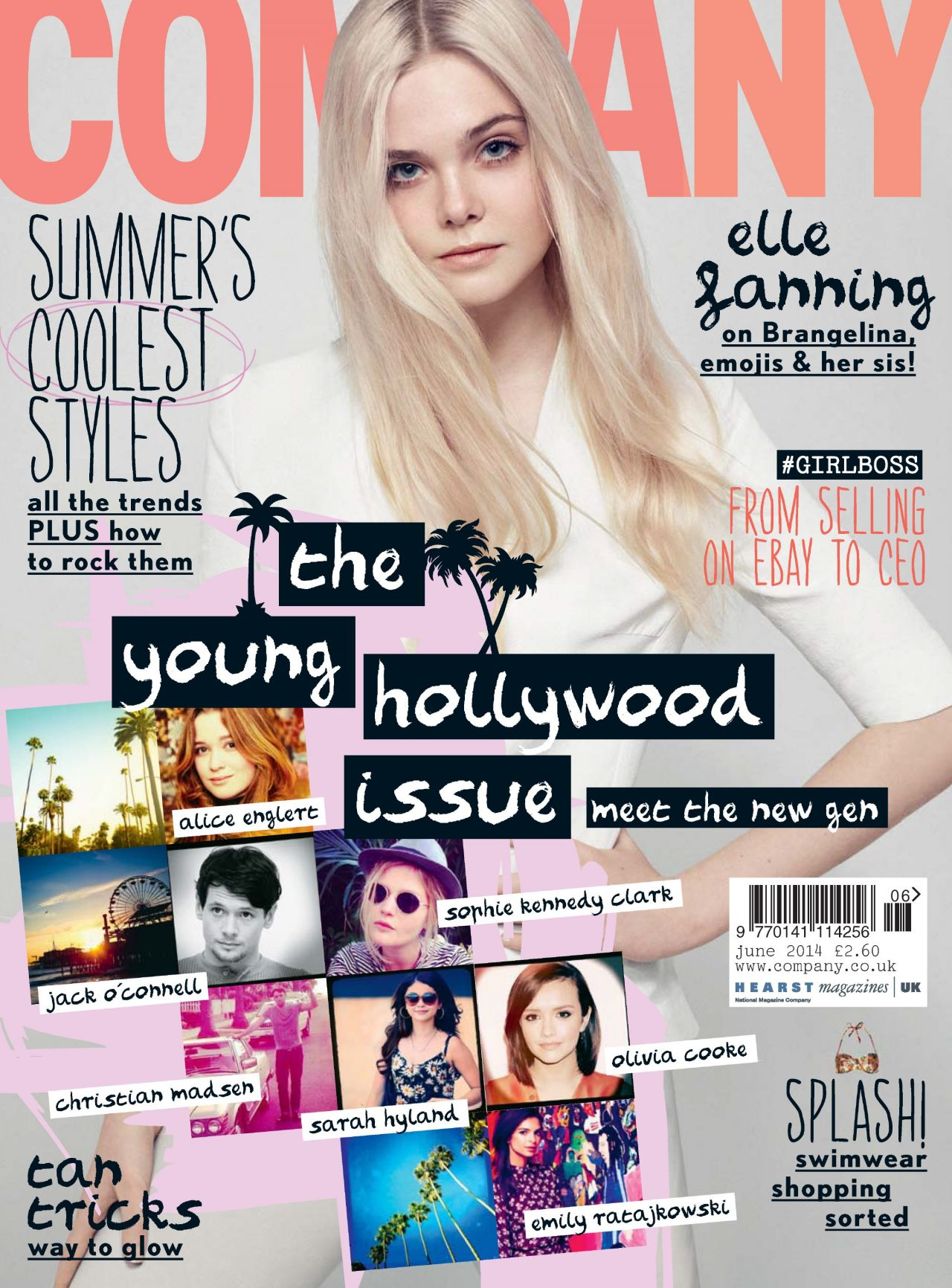 Elle Fanning - Company Magazine (UK) June 2014 Cover