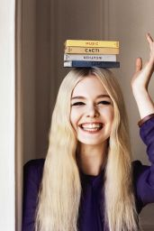 Elle Fanning - Photoshoot for Vogue UK June 2014 (by Angelo Pennetta)
