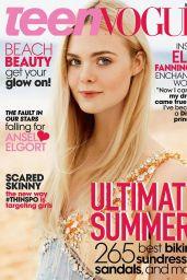 Elle Fanning - Teen Vogue Magazine June July 2014 Cover