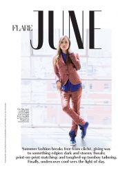 Ellen Page - Flare Magazine June 2014 Issue