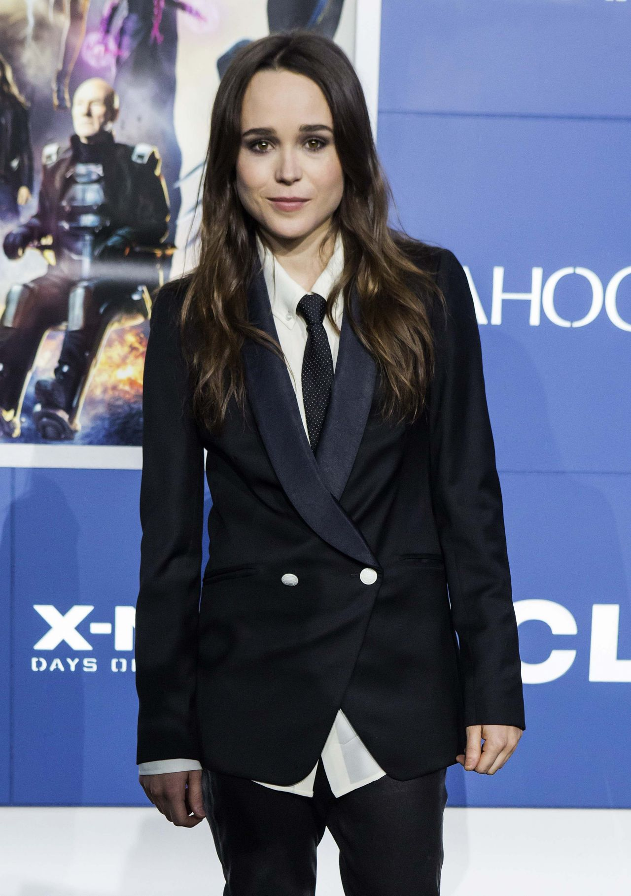 Ellen Page - 'X-Men: Days Of Future Past' Premiere in New ...
