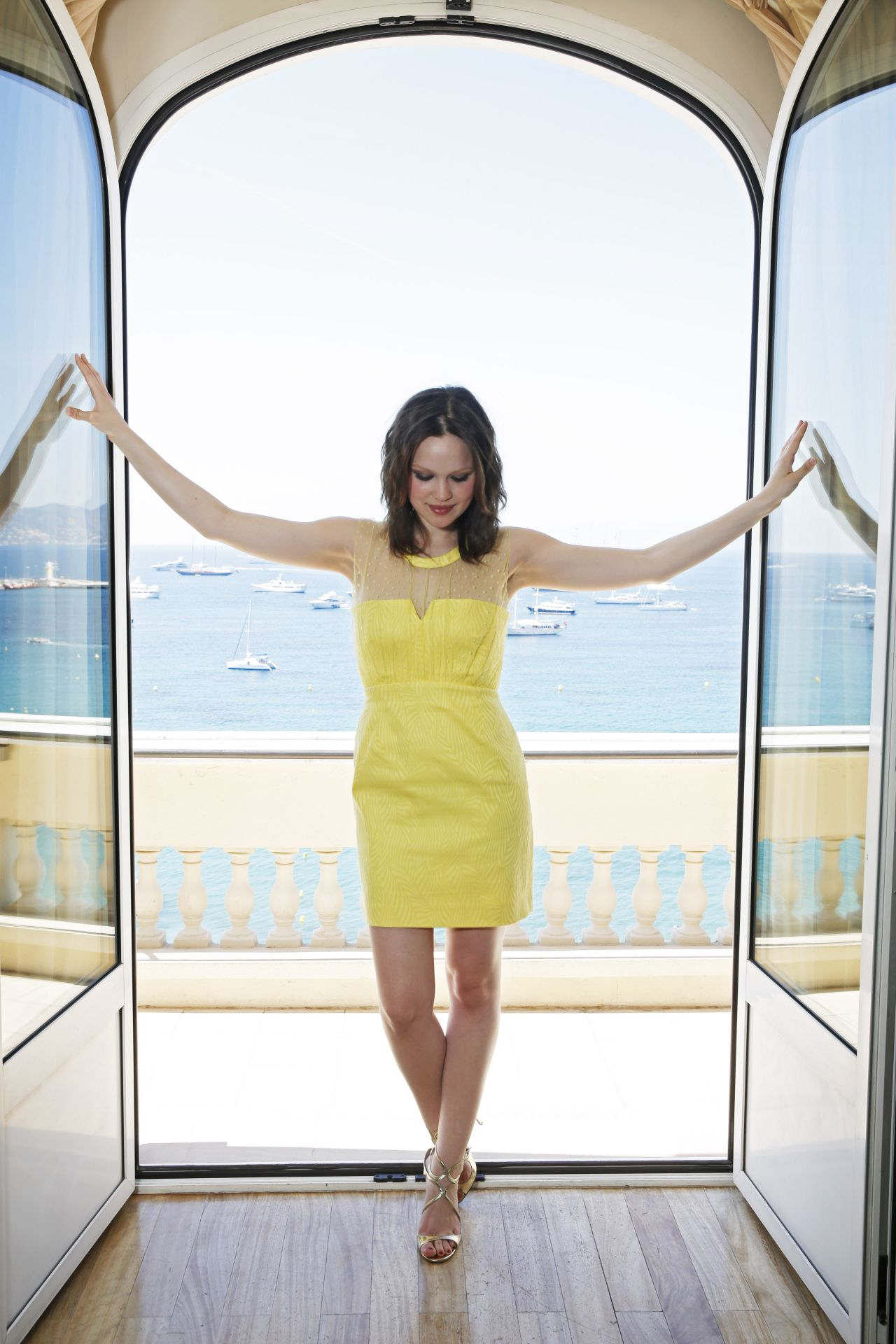Emilia Schule Photoshoot Cannes 2014 By Dave Bedrosian