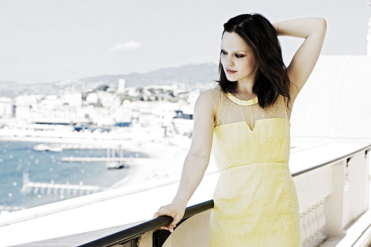Emilia Schule At Dave Bedrosian Photoshoot In Cannes 2014