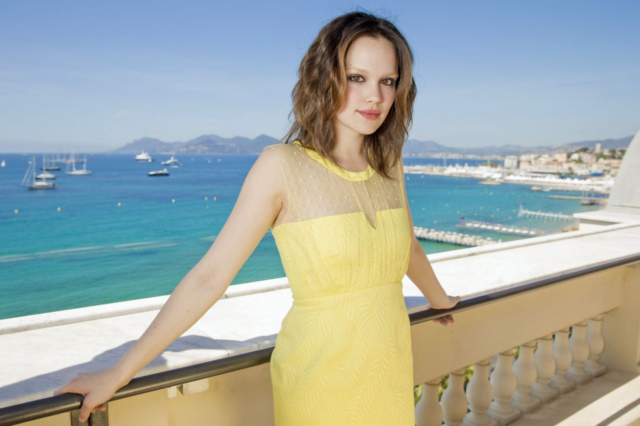 Emilia Schule Photoshoot - Cannes 2014 (by Dave Bedrosian