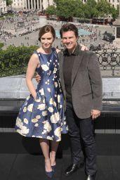 Emily Blunt & Tom Cruise -