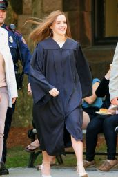 Emma Watson -Graduates From Brown University in Providence - May 2014