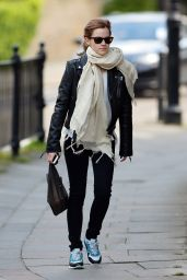 Emma Watson Street Style - Out in London - May 2014