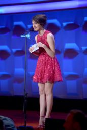 Emmy Rossum in Elie Saab Dress - 25th Annual GLAAD Media Awards