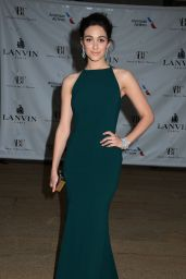 Emmy Rossum Wearing Lanvin Gown - 2014 American Ballet Theatre Opening Night Spring Gala in New York City