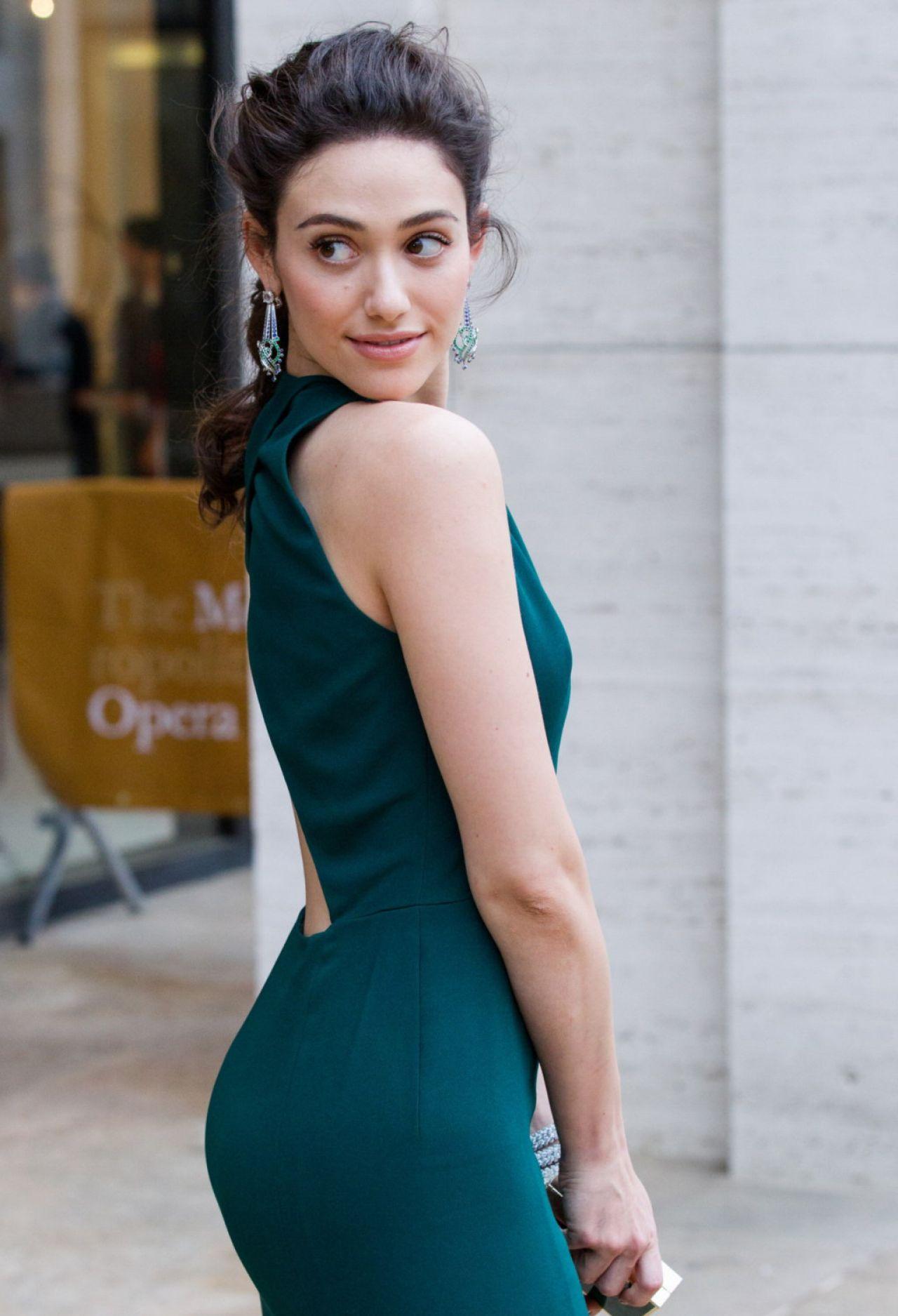 Emmy Rossum Wearing Lanvin Gown - 2014 American Ballet -8238